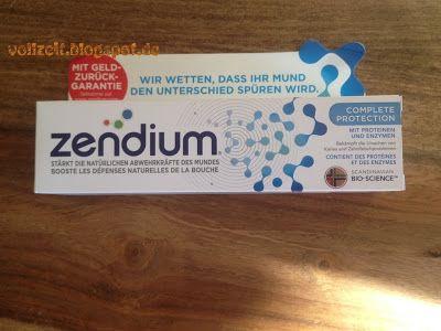 Vollzeit TestZeit Produkttests: Zendium Zahnpasta mit Geld zurück Garantie