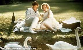 Robert Redford and Mia Farrow in the 1974 film version of The Great Gatsby