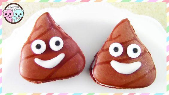 POO EMOJI COOKIES, POO EMOJI MACARONS, WORLD EMOJI DAY - SUGARCODER  #poocookies…