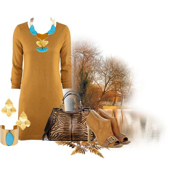 """sweater dress"" by hcc71 on Polyvore"