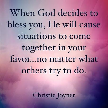 I don't think it's that he chooses when to bless u... He always wants to bless us: