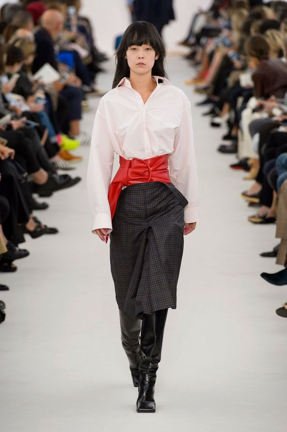 Once You Set Eyes on Balenciaga's Spandex Boot Pants, You Can't Look Away