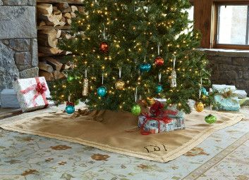 Square Tree Skirt 47