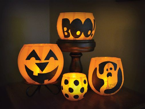 18 best Fun Cheap Halloween images on Pinterest Halloween crafts - cheap halloween decor ideas