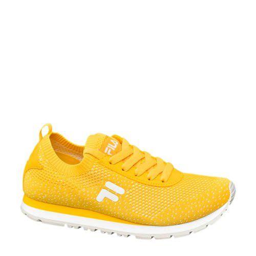 Knitted sneakers geel in 2020 - Geel
