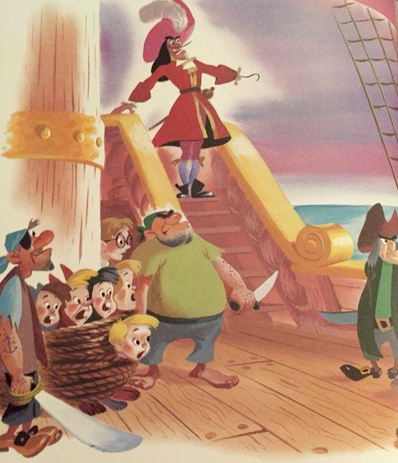 Disney's Peter Pan, illustrations by Al Dempster
