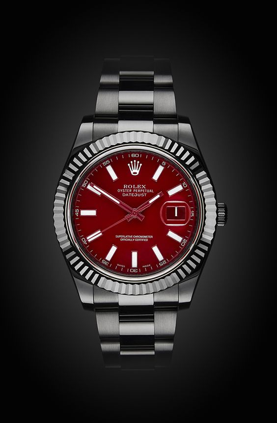 Rolex Datejust II: Rosso Corsa