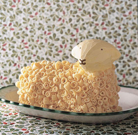 Chocolate Curls Lamb And Lamb Cake On Pinterest
