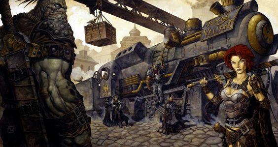 iron kingdoms buildings - Google Search