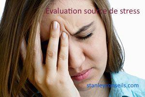 L'évaluation est une source importante de stress