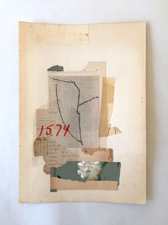 Lee McKenna Handmade Collage 2015