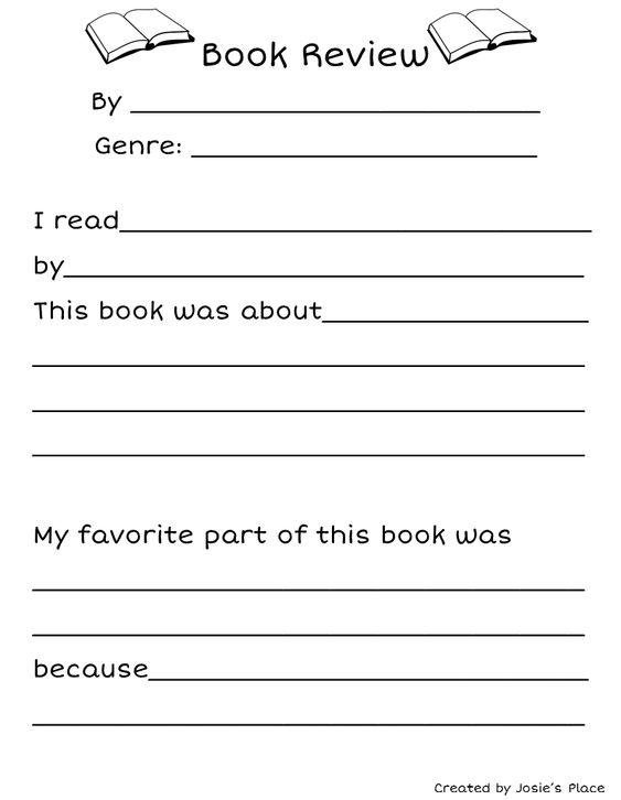worksheets for writing a book report Assigning book reports is a very common practice used by english teachers in public schools for two reasons it makes an easy writing assignment and it is a way for very busy teachers to learn if their students may have read the books.