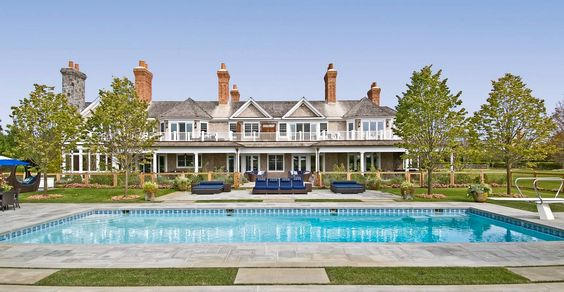 """Beyonce and Jay Z's legendary """"Sandcastle"""" home is one of the most expansive houses for sale in the Hamptons, NY, with a price tag of $43,500,000. Love the architecture! #celebrityhomes #celebrity #smarthomesforliving"""