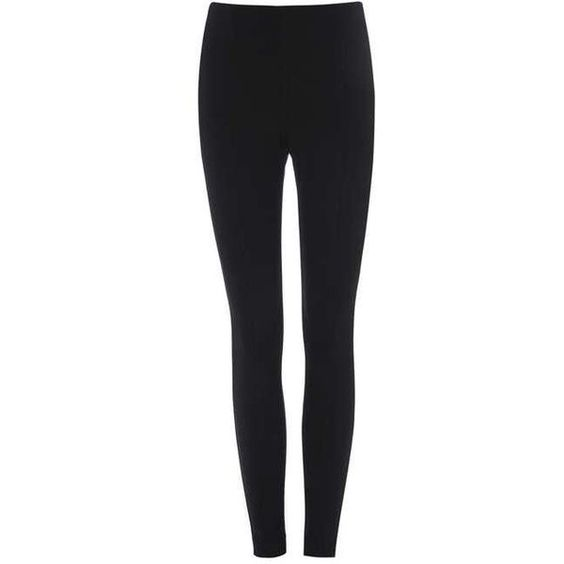 Petite High Waisted Legging (£50) ❤ liked on Polyvore featuring pants, leggings, petite leggings, highwaist pants, high rise pants, high-waisted leggings and petite pants