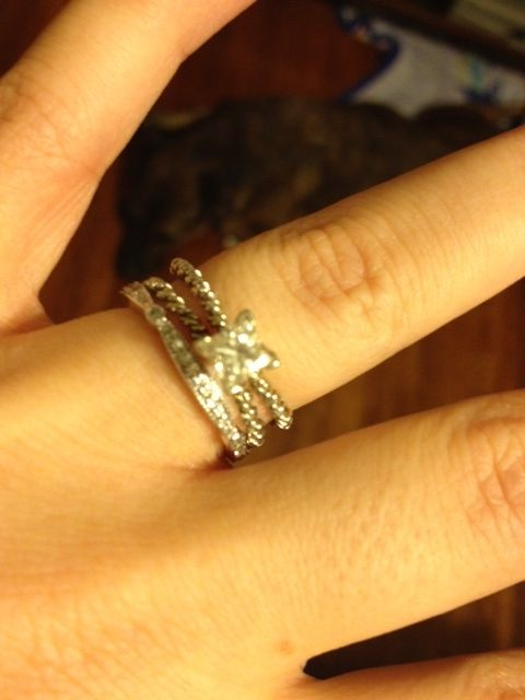 Princess Split Shank Cable Engagement Ring Charlotte Wedding Band