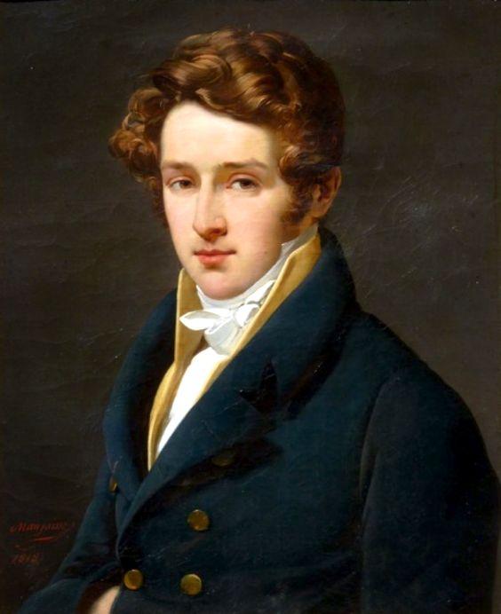 Portrait of Baron Rene Hyacinthe Holstein, by Jean-Baptiste Mauzaisse, 1818: