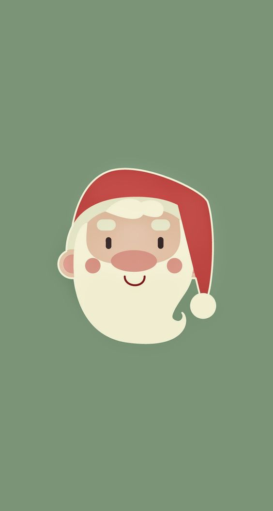 Cute Santa Claus ★ Find more seasonal #iPhone + #Android #Wallpapers and #Backgrounds at @prettywallpaper
