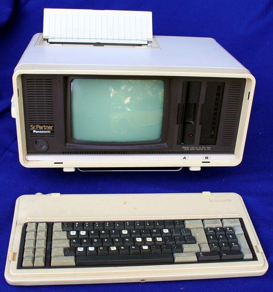 The Panasonic Sr. Partner is a luggable PC compatible computer ...