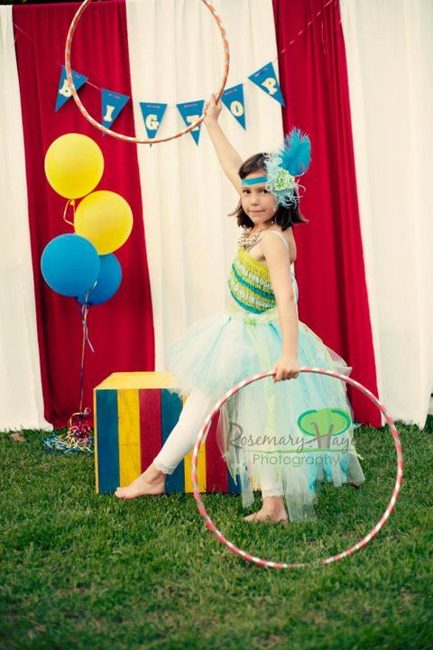 Luna Bella on the High Wire  Circus Trapeze Artist by Lulafairy, $70.00