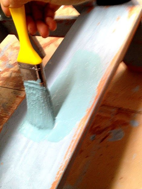 how to make wood look distressed with stain
