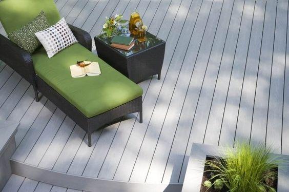 Terrasse en bois composite conseils de pose et photos  Déco