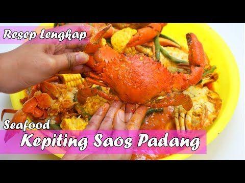 Seafood Resep Lengkap Cara Membuat Kepiting Saos Padang Utuh Jumbo Simple Dan Enak Youtube Resep Resep Masakan Kepiting