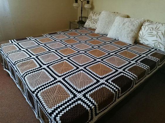 Handmade bedspread