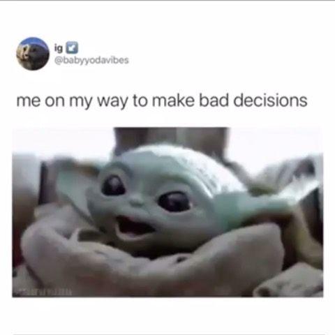 Baby Yoda On Instagram Babyyodda Yoda Funny Yoda Meme Yoda