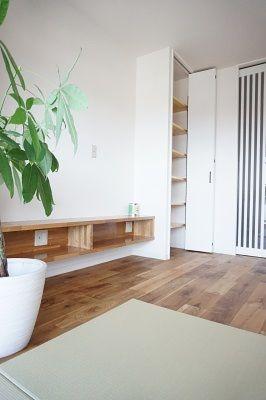 オーク無垢 収納力 京都で家づくりするならママ設計士onestarにお
