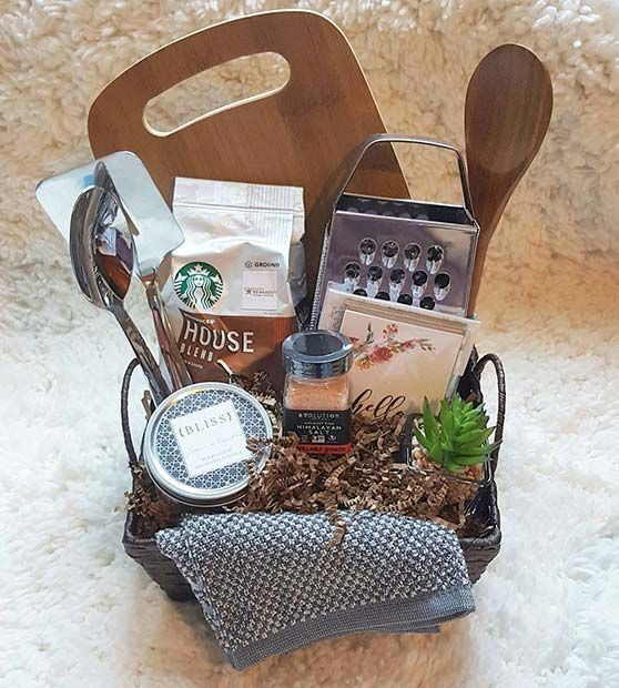 23 Easy Diy Christmas Gift Ideas Page 2 Of 2 Stayglam Easy Diy Christmas Gifts Kitchen Gift Baskets Christmas Gift Baskets Diy