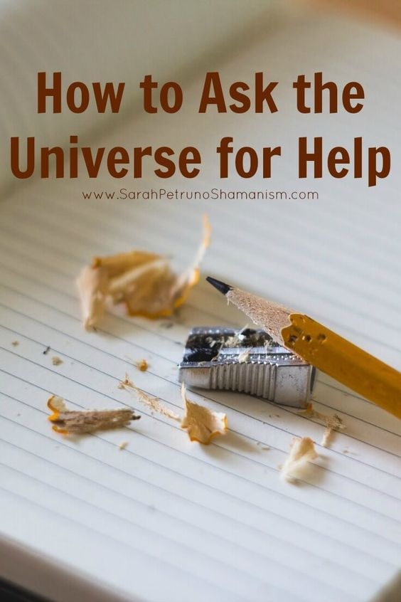 Need help with a task? Something really big that you have your hopes set on or even something smaller, like money for a haircut? Learn how to ask the Universe to help you get what you want.