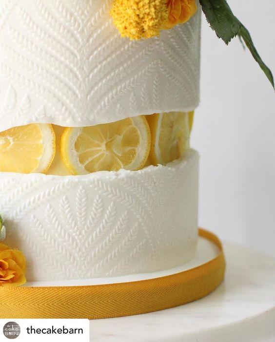 Fault line cake au citron