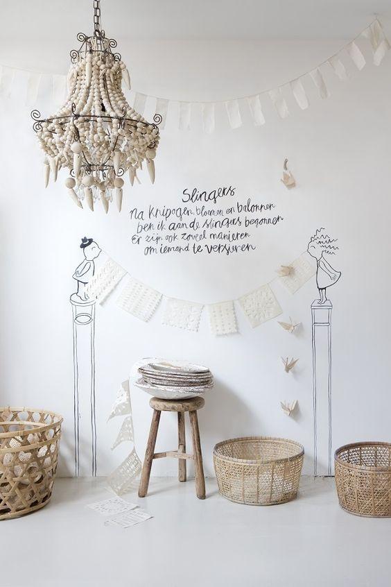 STIJLVOL STYLING - WOONBLOG Interieur, woonideeën, buitenleven, zelf maak ideeën, feest styling tips: Interieur   Styling met houten kralen