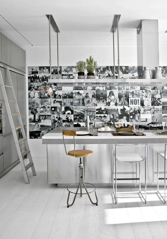 Hängeregal küche  Bildergebnis für küche hängeregal decke | Vielleicht ? | Pinterest ...