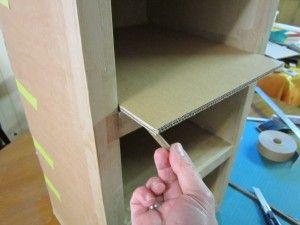 - Comment faire une etagere en carton ...