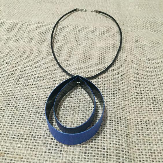 #colar #ecologico #handmade #quekabijuteriaecologica #reaproveitamentodemateriais @raquepesrosa