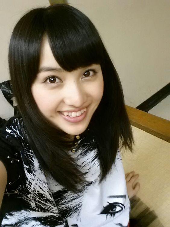 黒髪が可愛い百田夏菜子
