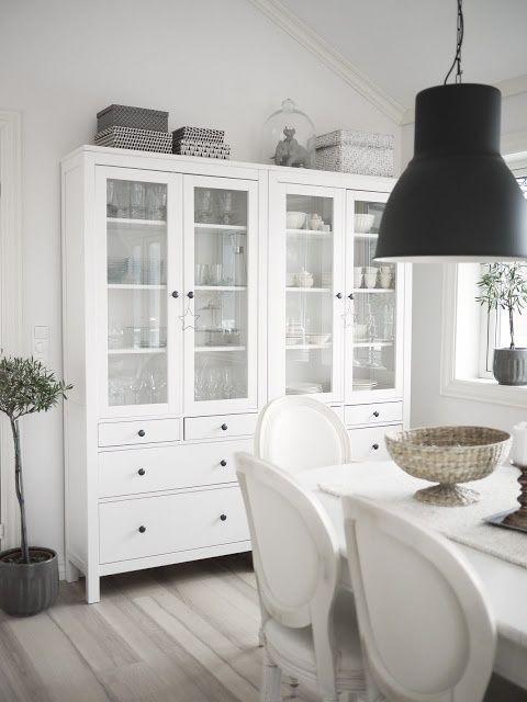 Salón con muebles Hemnes de Ikea | Decoracion | Pinterest | HEMNES ...