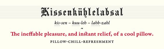 7 German Words For 'Sleep'