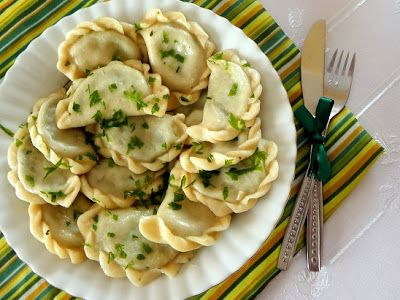 Fabryka Kulinarnych Inspiracji: Pierogi ze szpinakiem
