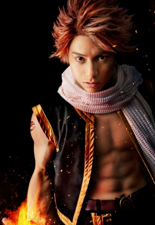 Natsu has just been cast in the Fairy Tail Stage Play... and he's hot!