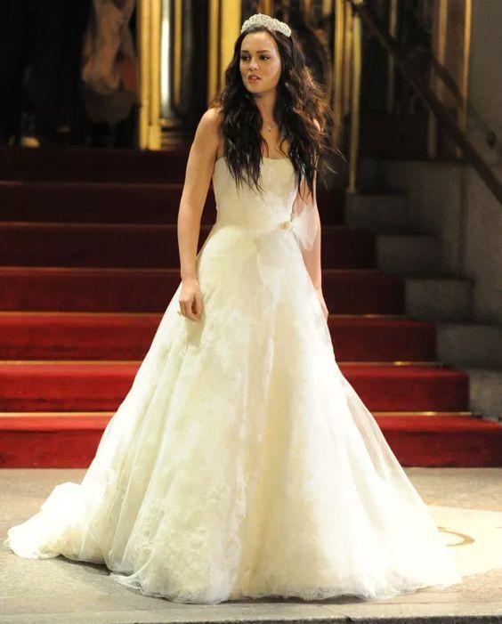 15 vestidos de noiva de filmes e sries para inspirar voc gossip girls blair waldorf and girls - Blair Waldorfzimmer