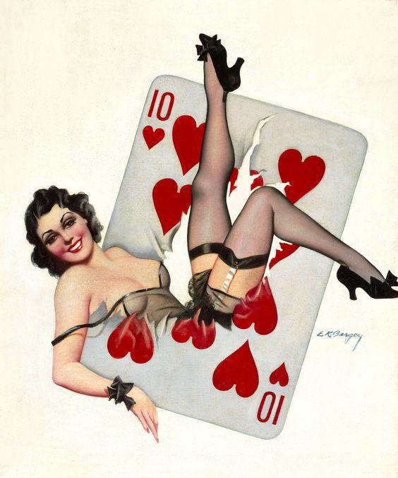 Ten Of Hearts Earle Bergey