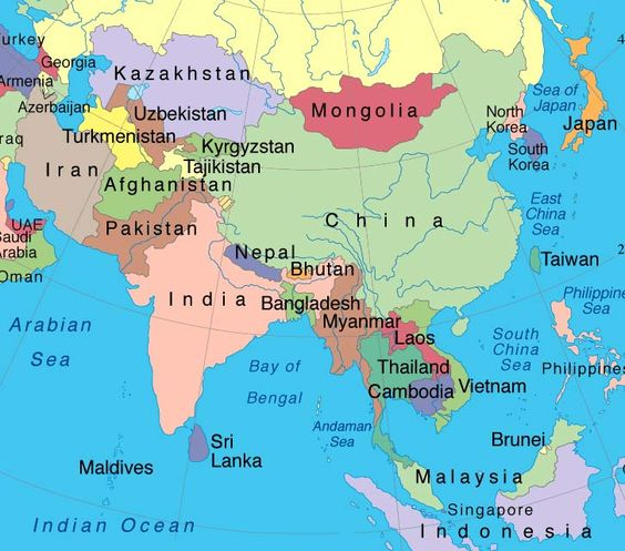 Map of wast asia china russia mongolia japan south korea north map of wast asia china russia mongolia japan south korea north korea taiwan east asia pinterest asia mongolia and north korea gumiabroncs Images