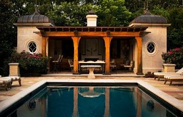 French - mediterranean - pool - nashville - PAGE | DUKE Landscape Architects