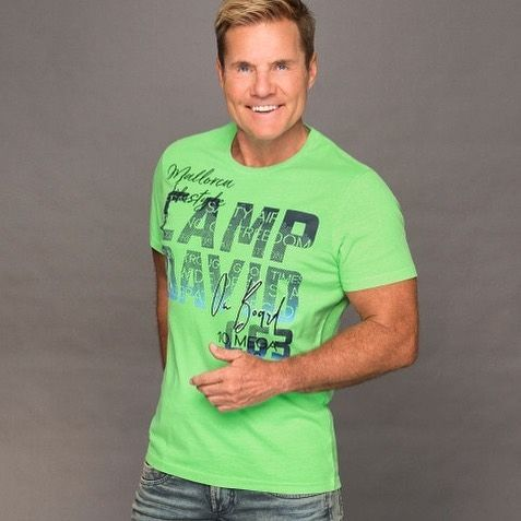 Herren T Shirt Mit Photoprint Logo Farbe Neon Green Grosse L Grun 04061519080415 Limited Edition 10 Jahre Dieter Bohlen Mens Tops Mens Tshirts Fashion
