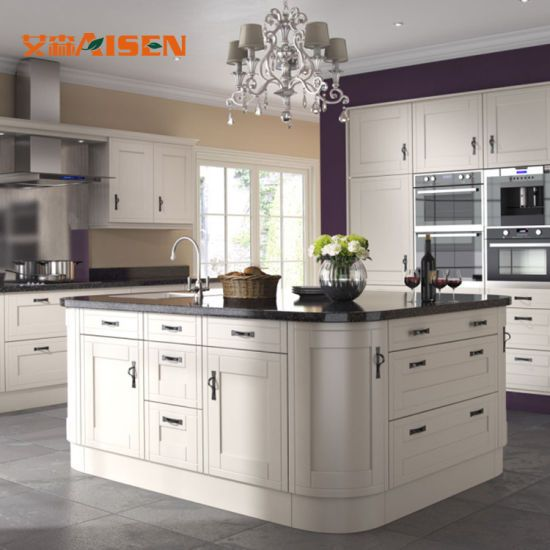 Hot Item Apartment Kitchen Cabinets White Shaker Collection Solid Wood Soft Close Kitchen Cabinet Styles Apartment Kitchen Modern Kitchen Cabinets