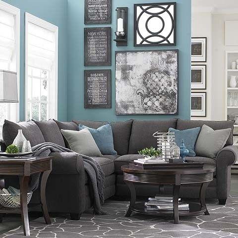 Charcoal Gray Sectional Sofa - Foter
