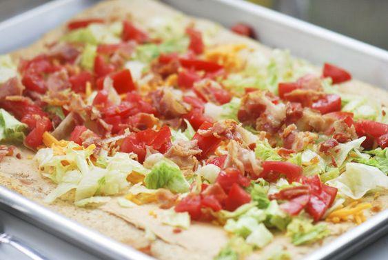 Bacon Taco Pizza