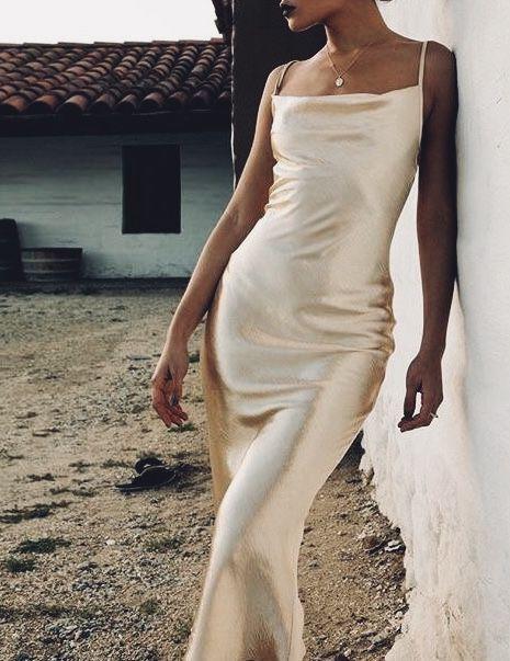 Satin Slip Obsession Girls Formal Dresses Satin Dresses Fancy Dresses
